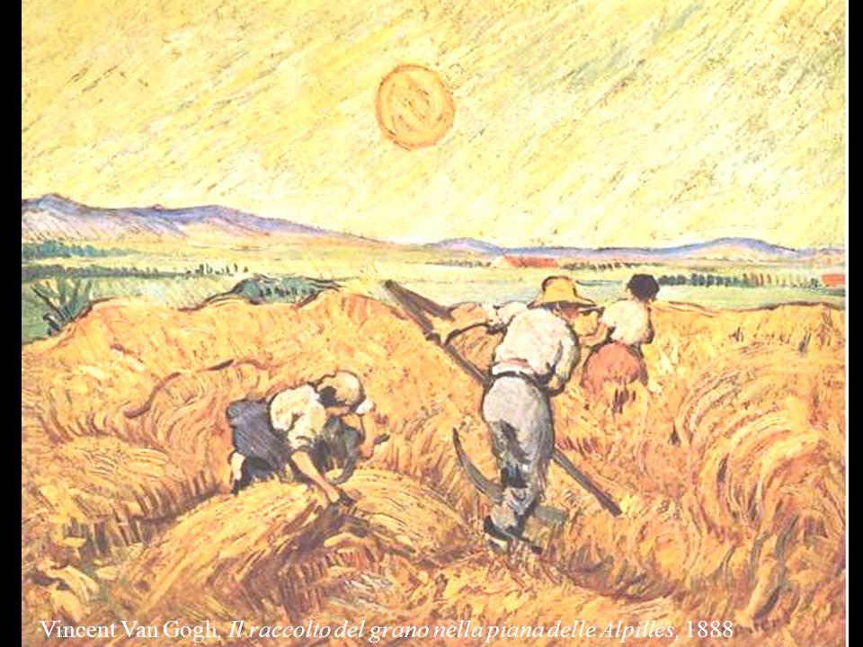 Vincent Van Gogh, Il raccolto del grano nella piana delle Alpilles, 1888