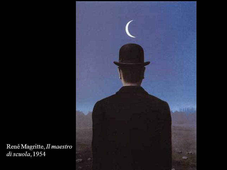 René Magritte, Il maestro di scuola, 1954
