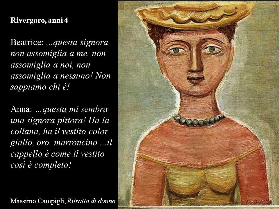 Rivergaro, anni 4 Beatrice:...questa signora non assomiglia a me, non assomiglia a noi, non assomiglia a nessuno! Non sappiamo chi è! Anna:...questa m