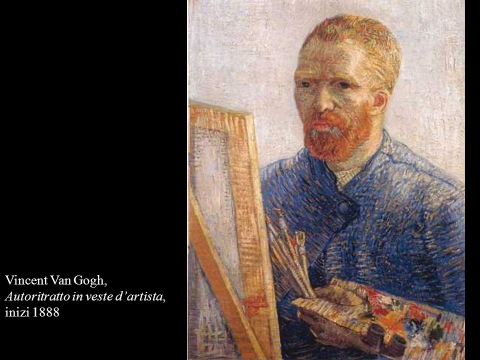 Vincent Van Gogh, Autoritratto in veste dartista, inizi 1888