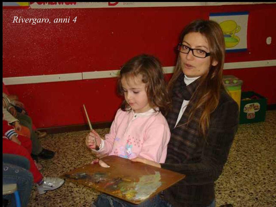 Rivergaro, anni 4 Gabriele:...forse è triste perché il suo amico pittore è andato via e poi non è tornato e lei lo sta aspettando, ma non torna...