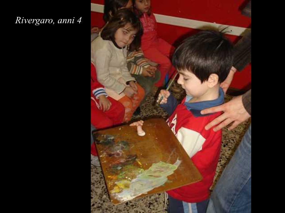 Rivergaro, anni 4 Giulio:...io lo so perché, l uovo poi si apre ed esce l uccello e il pittore lo sa...