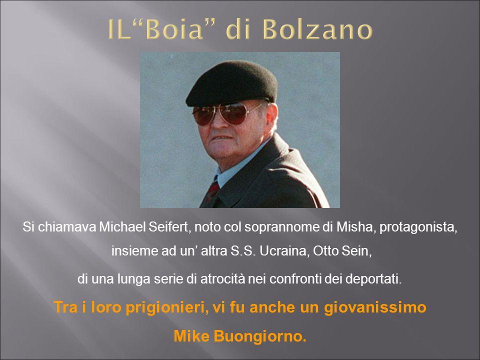 Si chiamava Michael Seifert, noto col soprannome di Misha, protagonista, insieme ad un altra S.S. Ucraina, Otto Sein, di una lunga serie di atrocità n