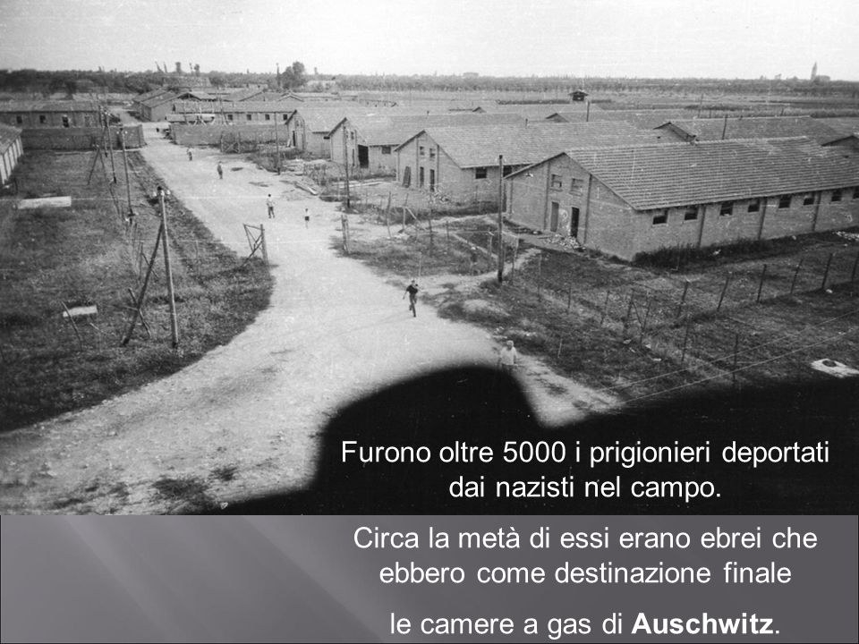 Furono oltre 5000 i prigionieri deportati dai nazisti nel campo. Circa la metà di essi erano ebrei che ebbero come destinazione finale le camere a gas
