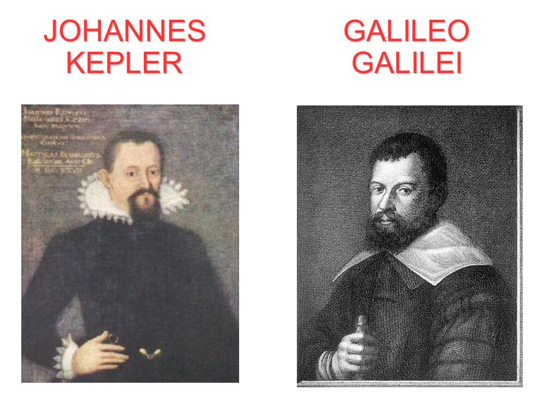 JOHANNESKEPLER GALILEO GALILEI