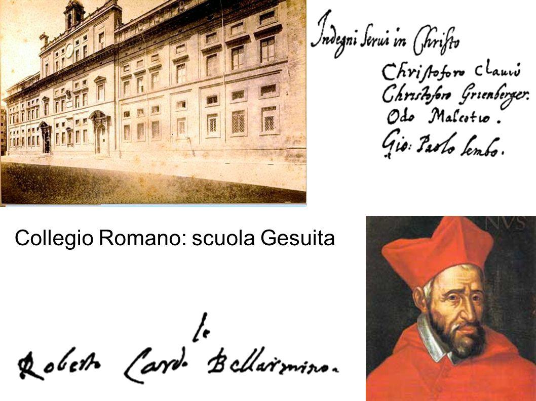 Collegio Romano: scuola Gesuita