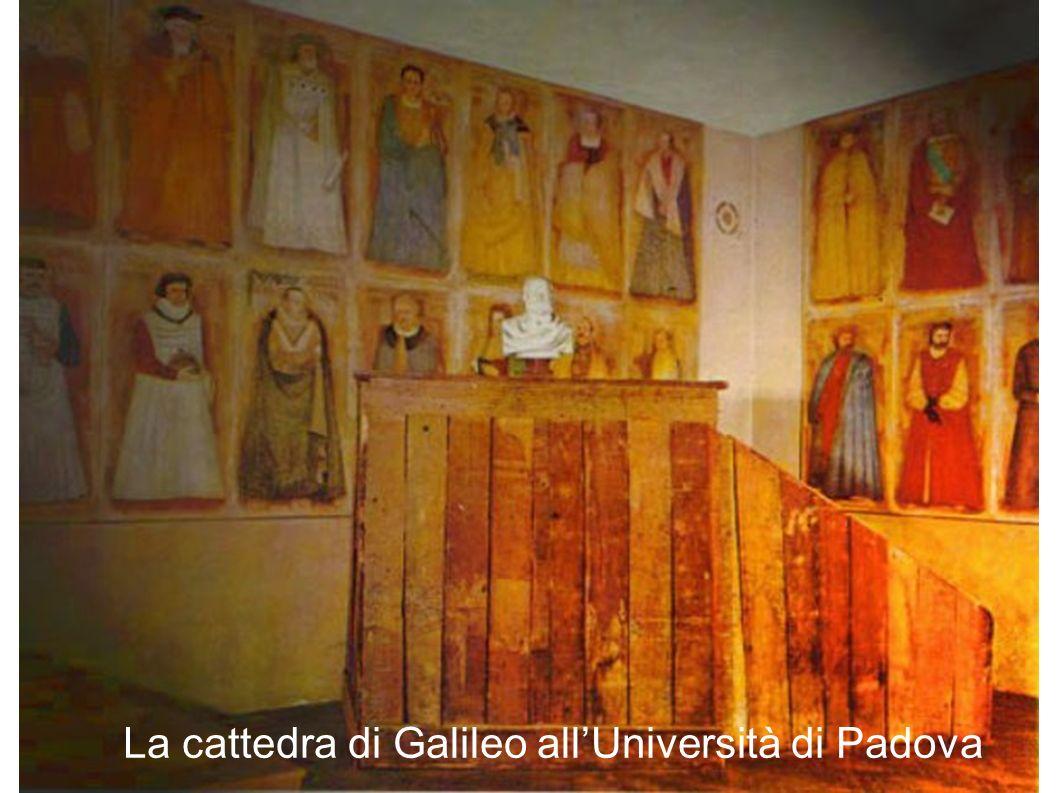 La cattedra di Galileo allUniversità di Padova