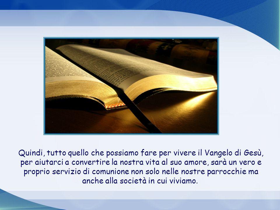 Un testo di San Paolo nella Lettera agli Efesini (2,19-22) esprime la stessa verità in un'altro linguaggio che non è apocalittico: Così dunque voi non