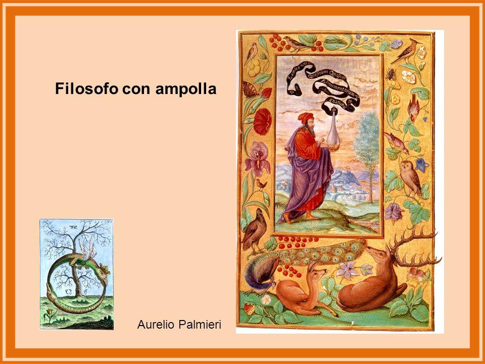 Filosofo con ampolla Aurelio Palmieri
