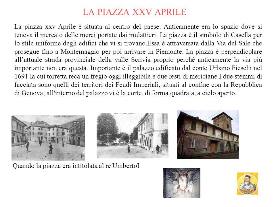 Casella 1901 Prele e Avosso primi 900 Veduta da crocetta di Orero