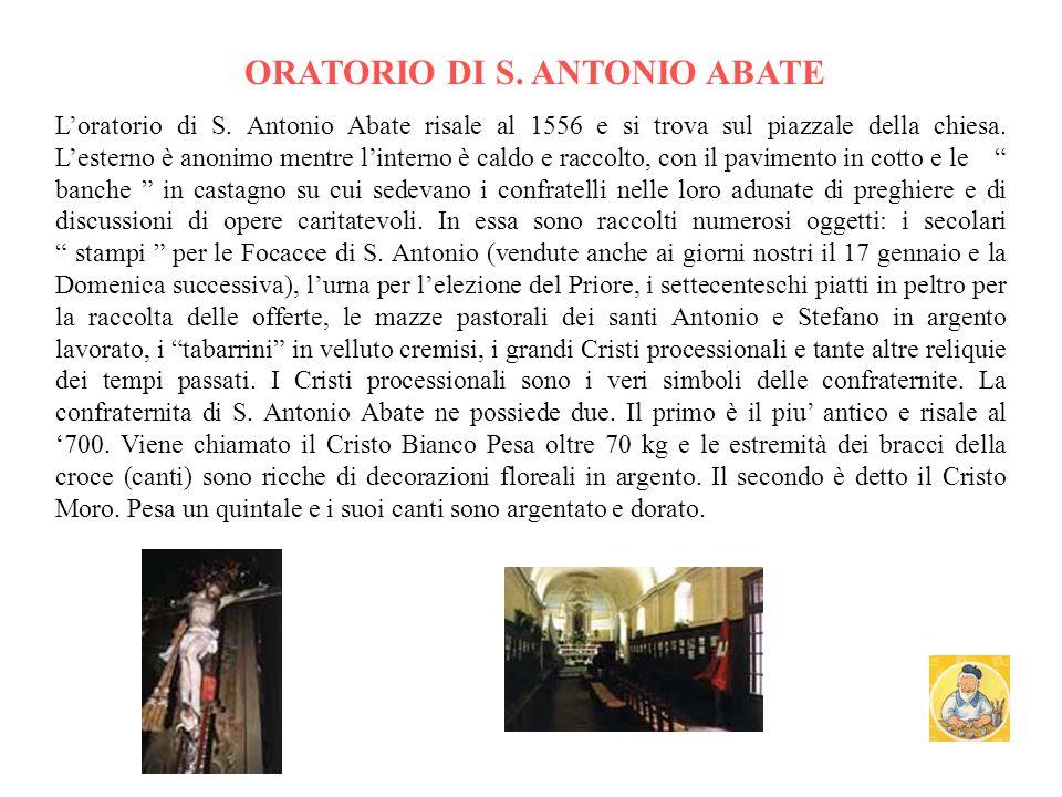 Il presepe Visitazione di Giovanni Andrea de Ferrari Piazzale della chiesa nel 1909 Interno Chiesa parrochiale