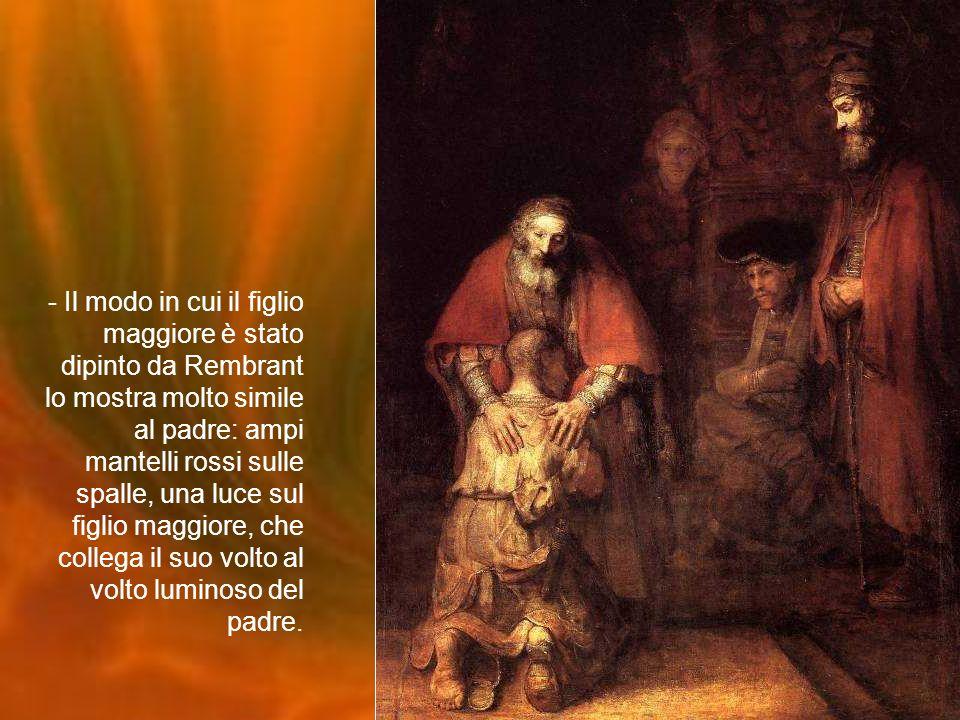 - Il ritorno è l'evento dominante del dipinto; non è comunque situato nel centro fisico della tela. Ha luogo sul lato sinistro del quadro, mentre il f