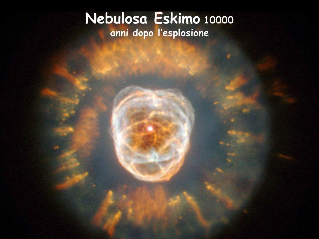 Nebulosa Eskimo 10000 anni dopo lesplosione