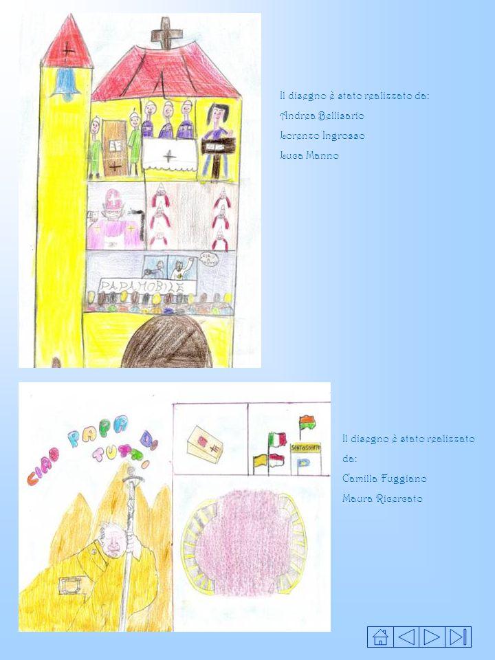 Il disegno è stato realizzato da: Andrea Bellisario Lorenzo Ingrosso Luca Manno Il disegno è stato realizzato da: Camilla Fuggiano Maura Ricercato