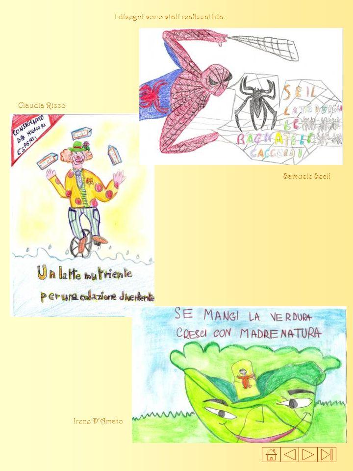 I disegni sono stati realizzati da: Samuele Seclì Claudia Rizzo Irene DAmato