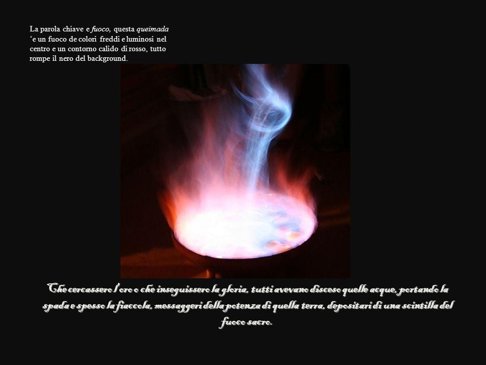 Che cercassero l oro o che inseguissero la gloria, tutti avevano disceso quelle acque, portando la spada e spesso la fiaccola, messaggeri della potenza di quella terra, depositari di una scintilla del fuoco sacro.