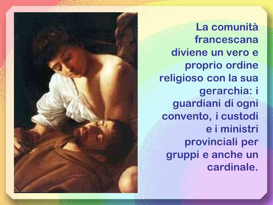 Ci vuole una regola generale, ma Francesco non se ne preoccupa, non vuole regole ufficiali ma deve stenderne una che sarà approvata da papa Onorio III