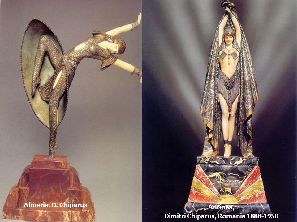 Fra gli anni 1925 – 1935, si sviluppò un movimento di scultura che combinava il bronzo, lavorio, il marmo e loro, per creare delle statuine, opere uni