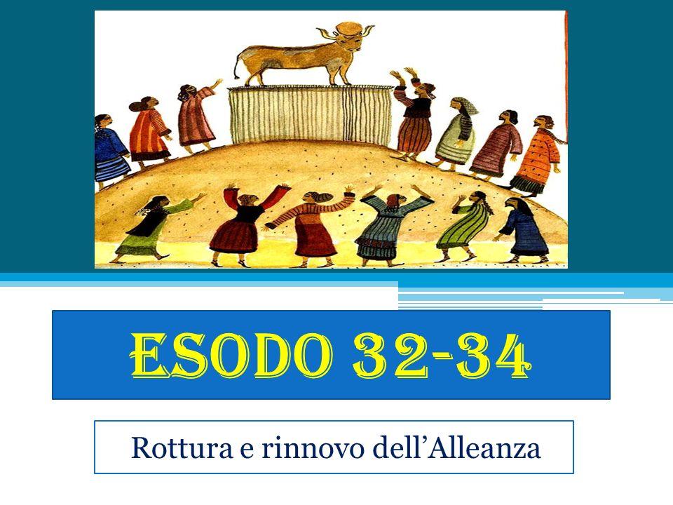 Struttura e genere Es 32: vitello doro (Mosè) Es 33: tenda del convegno (Mosè) Es 34: rinnovo dellalleanza (Mosè) Genere: RIB, processo ma per convertire Es 32: vitello doro (Mosè) Es 33: tenda del convegno (Mosè) Es 34: rinnovo dellalleanza (Mosè) Genere: RIB, processo ma per convertire