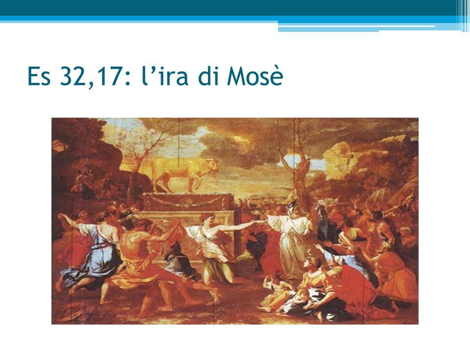 Ancora Mosè intercede