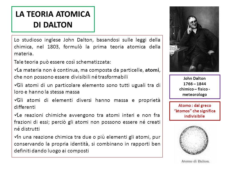 IL MODELLO ATOMICO DI THOMSON Il fisico inglese J.J.