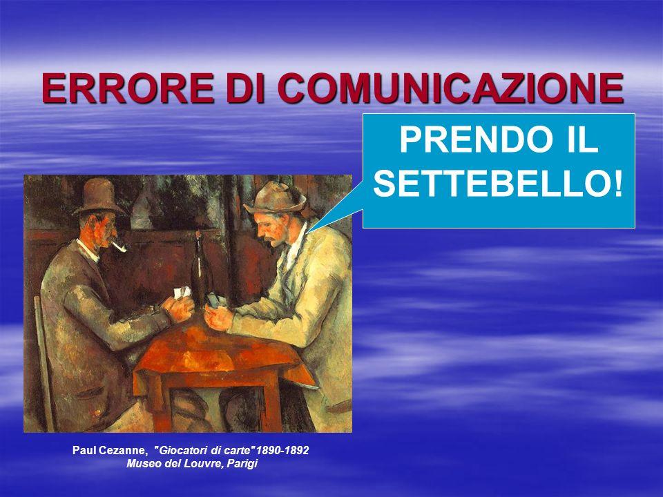 PRENDO IL SETTEBELLO! Paul Cezanne,