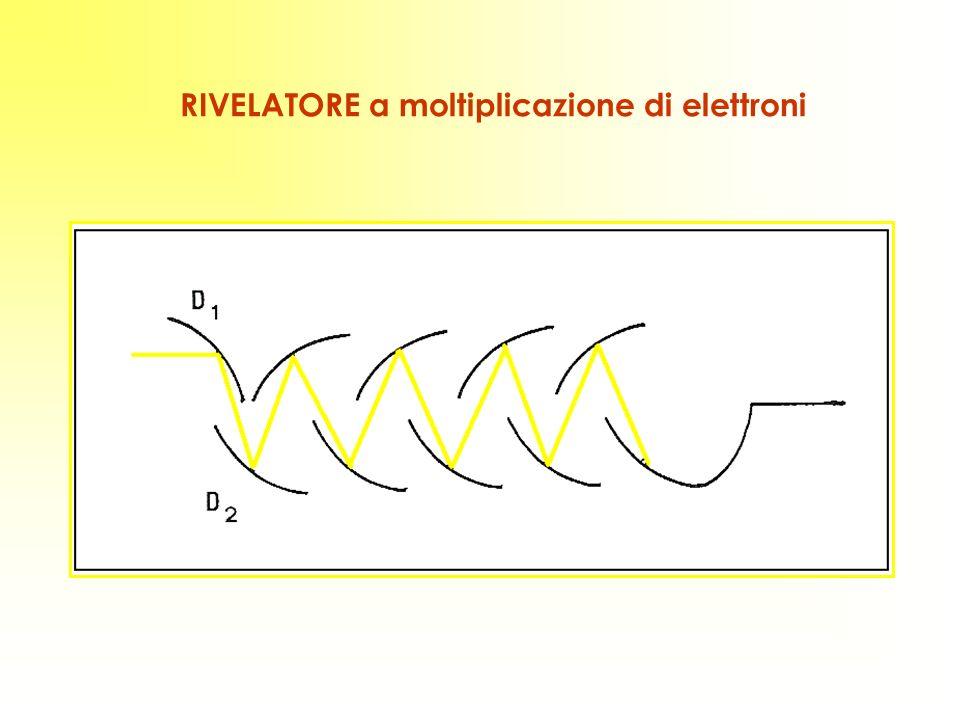 RIVELATORE a moltiplicazione di elettroni