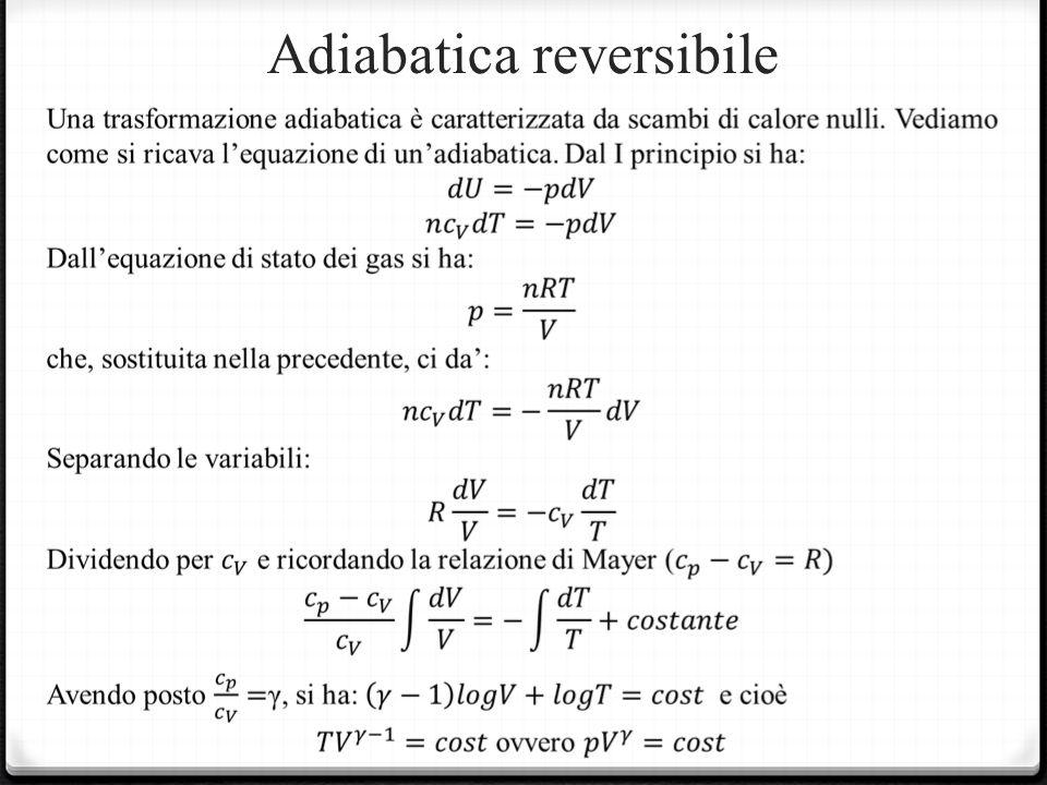 Adiabatica reversibile
