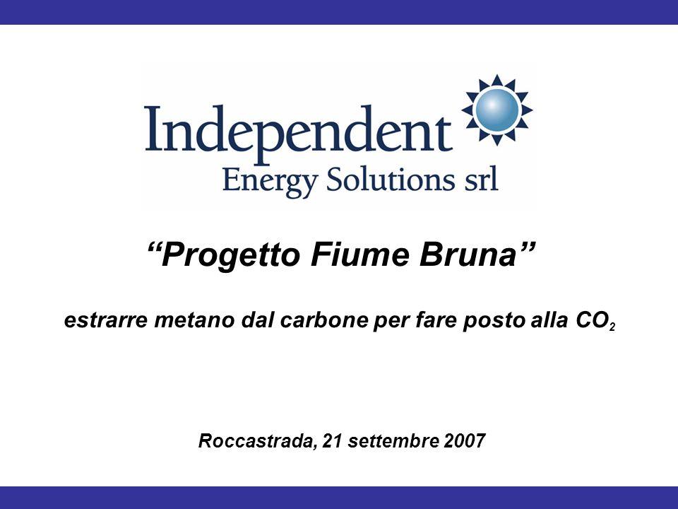 Progetto Fiume Bruna estrarre metano dal carbone per fare posto alla CO 2 Roccastrada, 21 settembre 2007