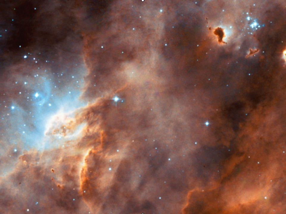 La nascita di una stella avviene quando una grande quantità di materia (soprattutto gas) si concentra, all interno di una nebulosa, in uno spazio sempre più piccolo, per effetto dell esplosione di una stella vicina.