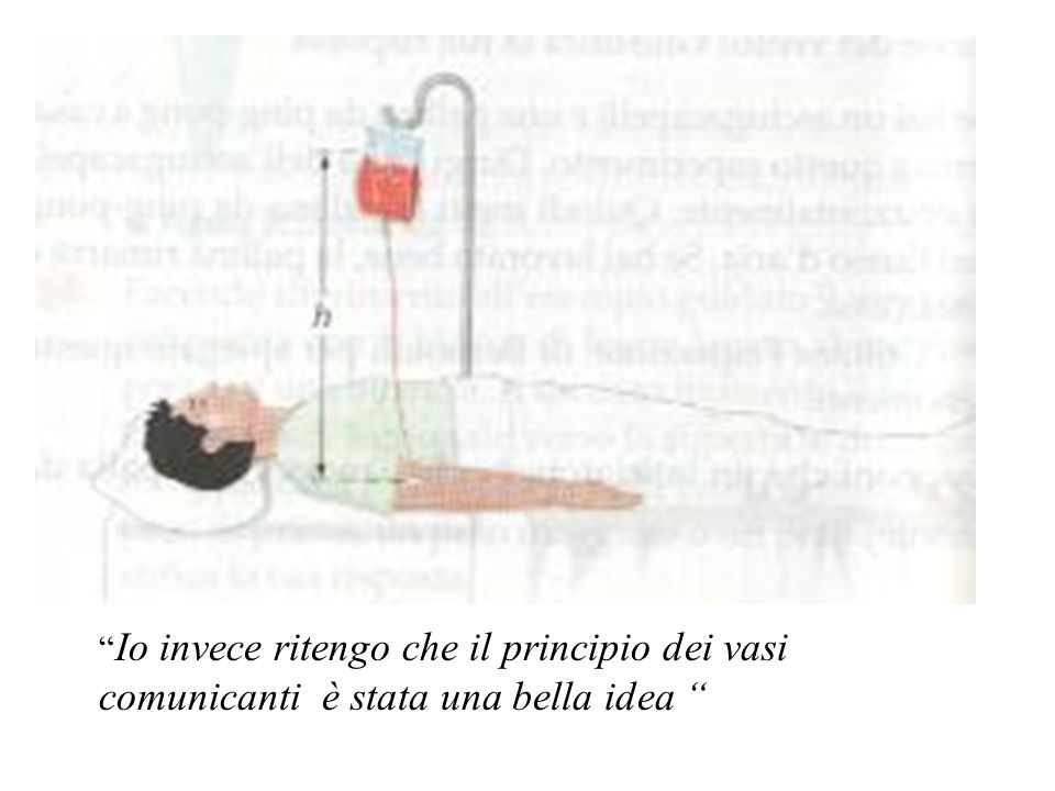 Io invece ritengo che il principio dei vasi comunicanti è stata una bella idea