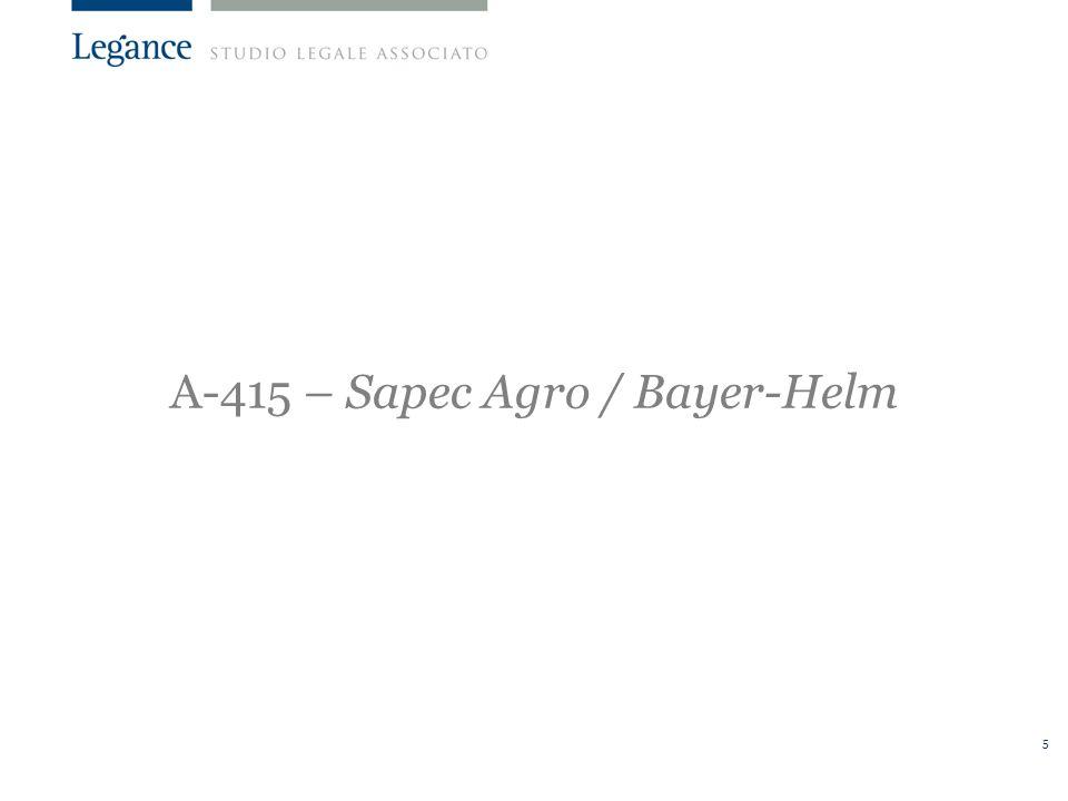 5 A-415 – Sapec Agro / Bayer-Helm