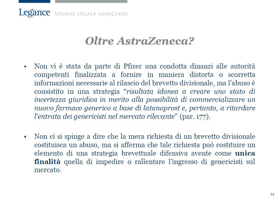 54 Oltre AstraZeneca.