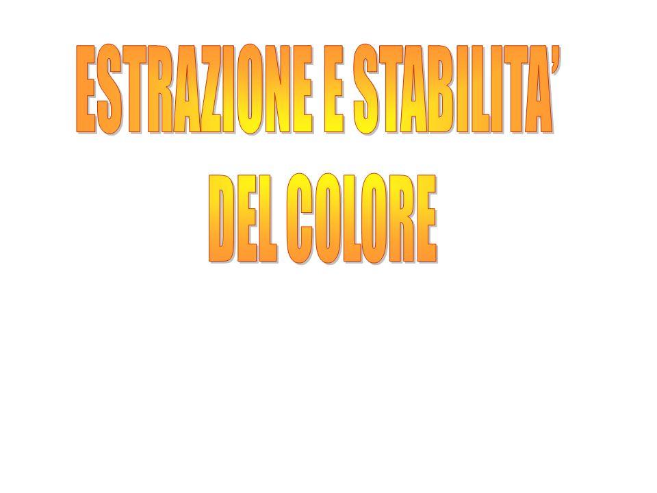 Cabernet 2 Stabilità del colore