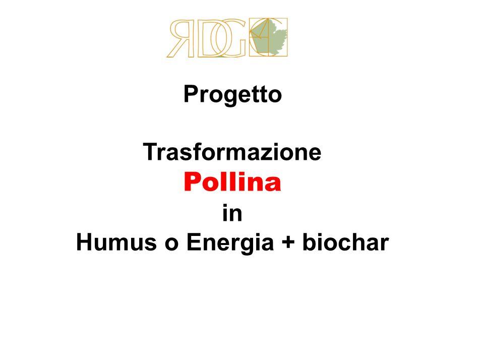 Progetto Trasformazione Pollina in Humus o Energia + biochar