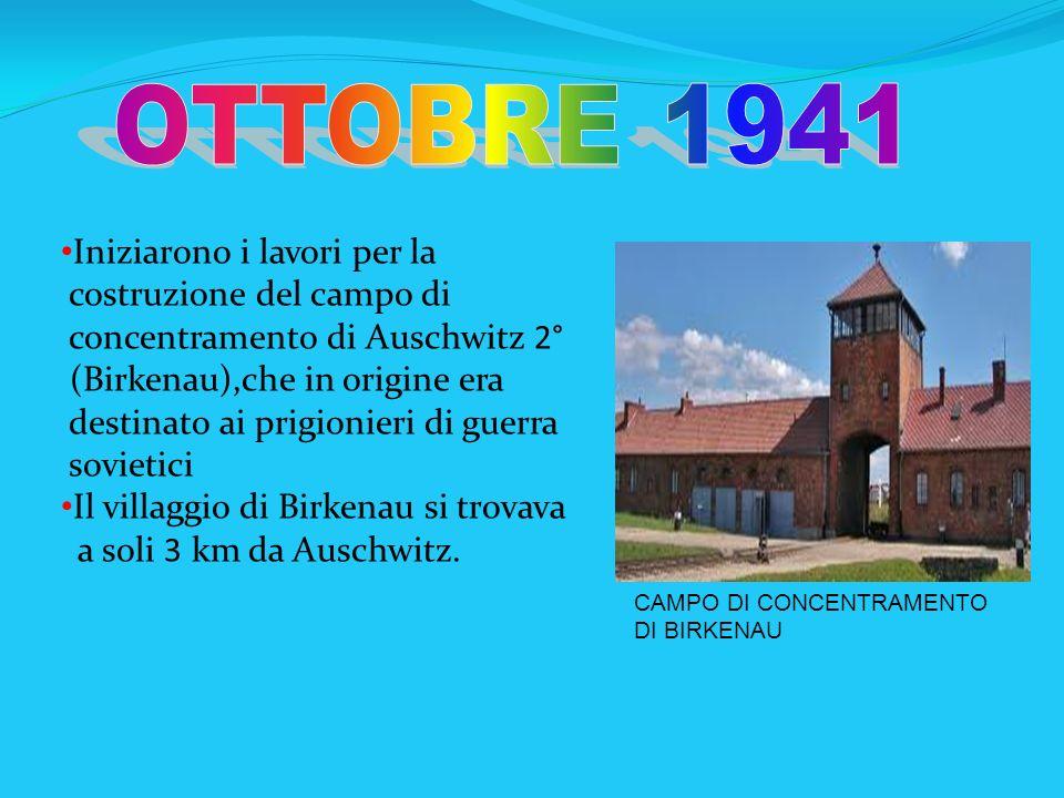 Iniziarono i lavori per la costruzione del campo di concentramento di Auschwitz 2° (Birkenau),che in origine era destinato ai prigionieri di guerra so