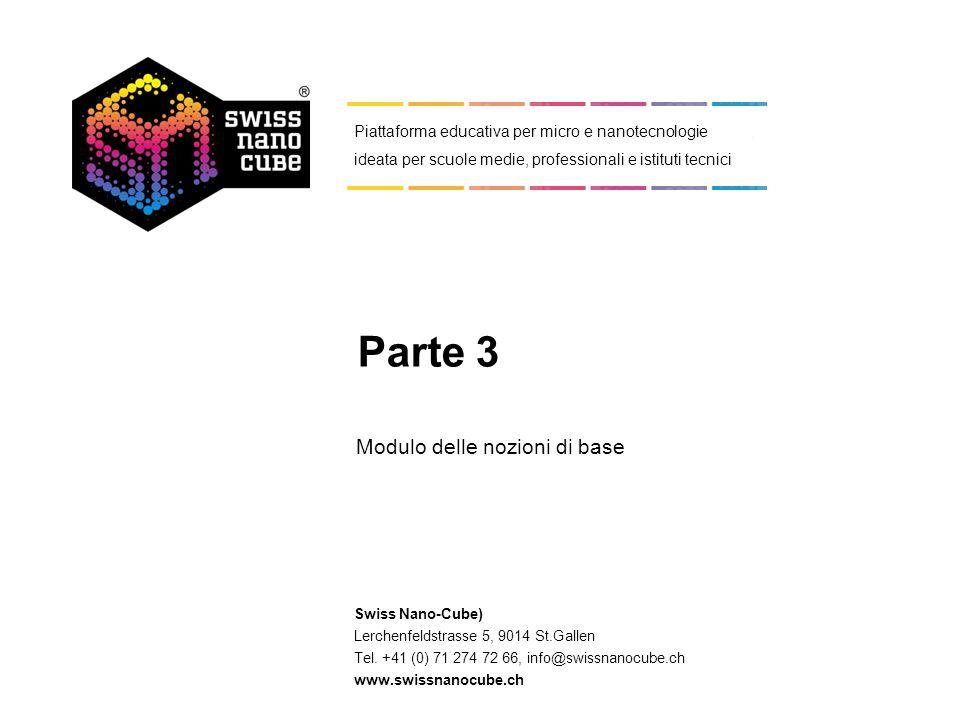 © 2011 - Swiss Nano-Cube 1 3. Produzione