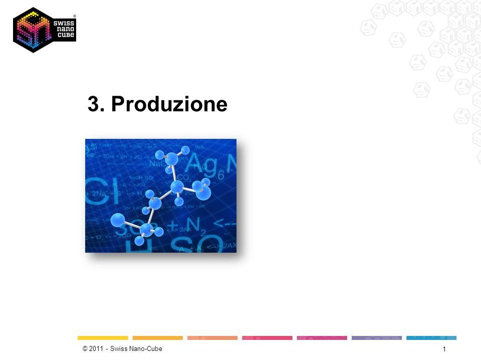 © 2011 - Swiss Nano-Cube Da dove provengono le nanoparticelle.