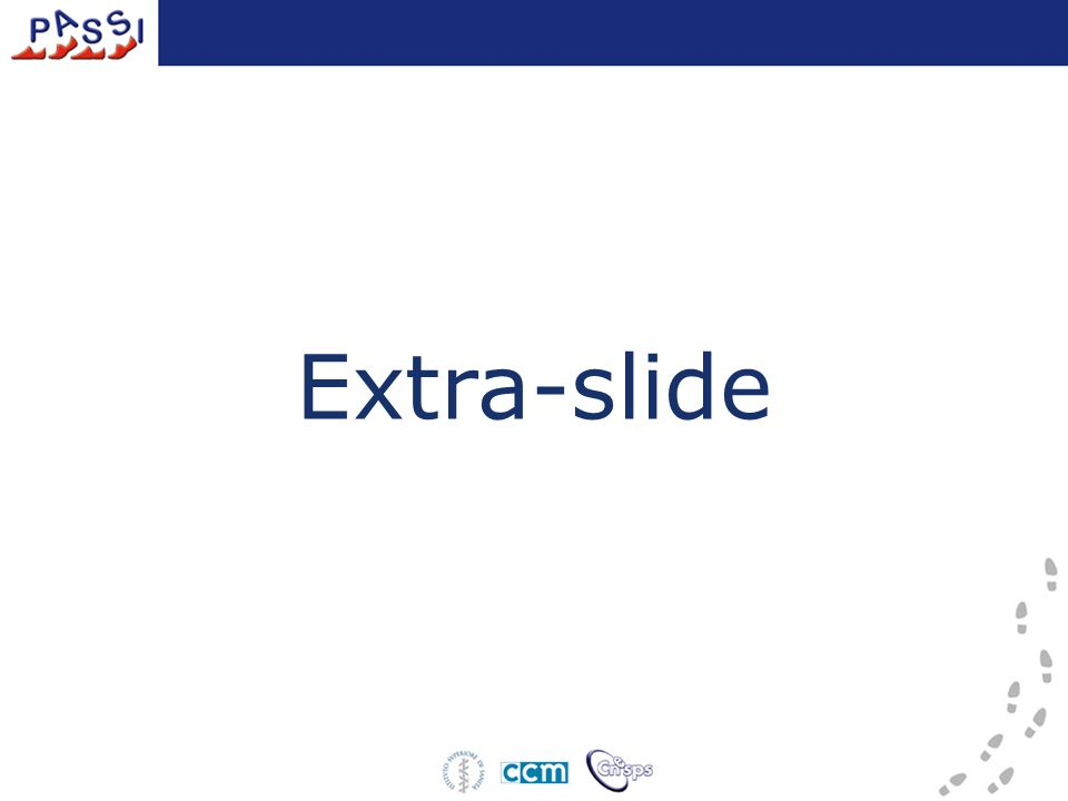 Extra-slide