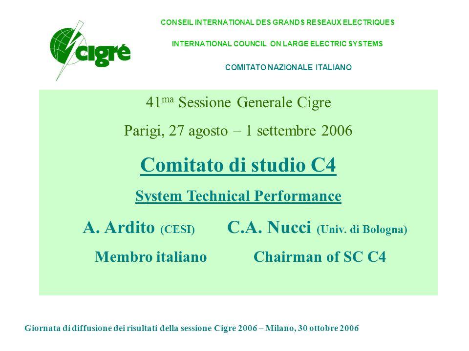 Comitato di studio C4: pubblicazioni(2) AG 4.4.
