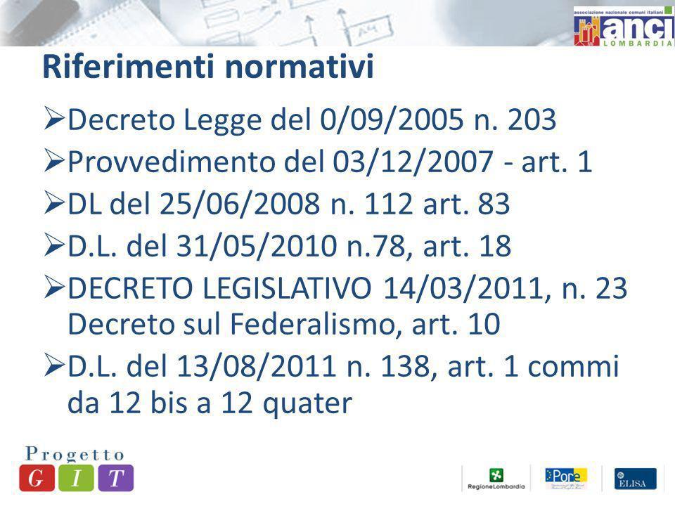 Provvedimento del 03/12/2007 - art.