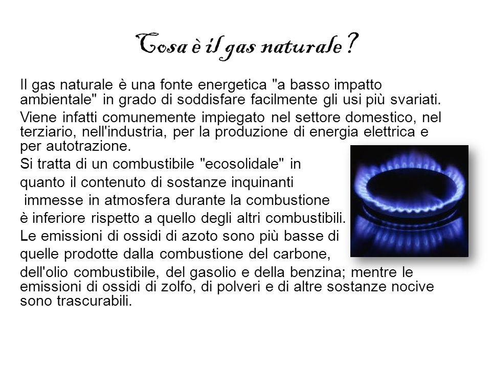 Cosa è il gas naturale? Il gas naturale è una fonte energetica