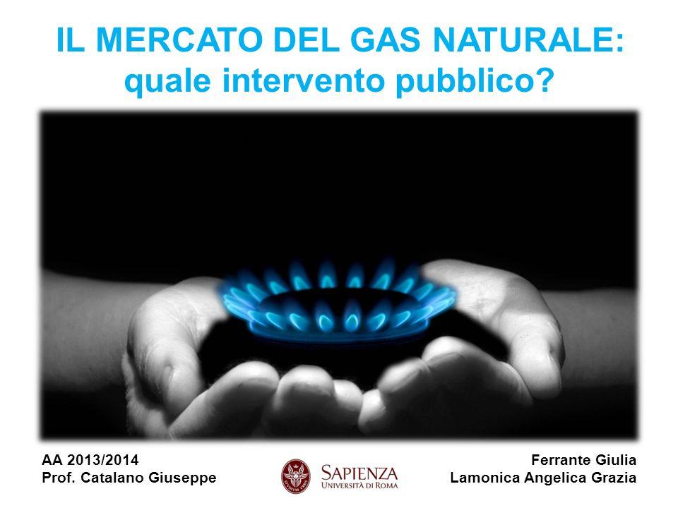 IL MERCATO DEL GAS NATURALE: quale intervento pubblico.