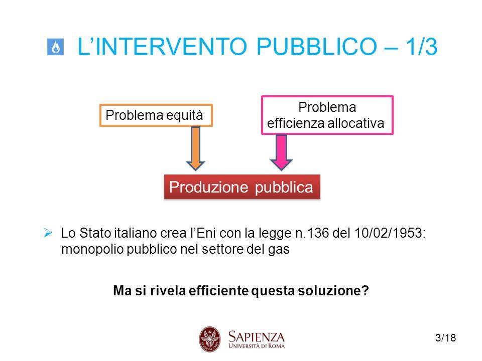 14/18 Composizione del prezzo del gas alle utenze domestiche in Italia nel 2012 (%)