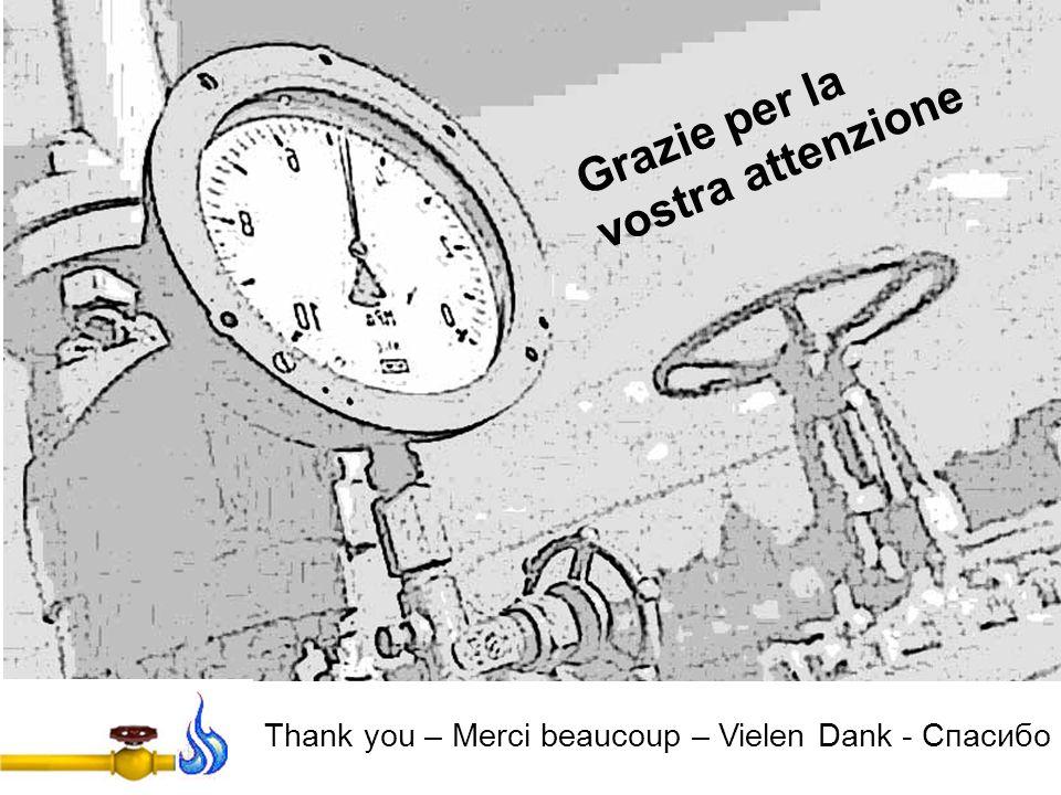 Grazie per la vostra attenzione Thank you – Merci beaucoup – Vielen Dank - Спасибо