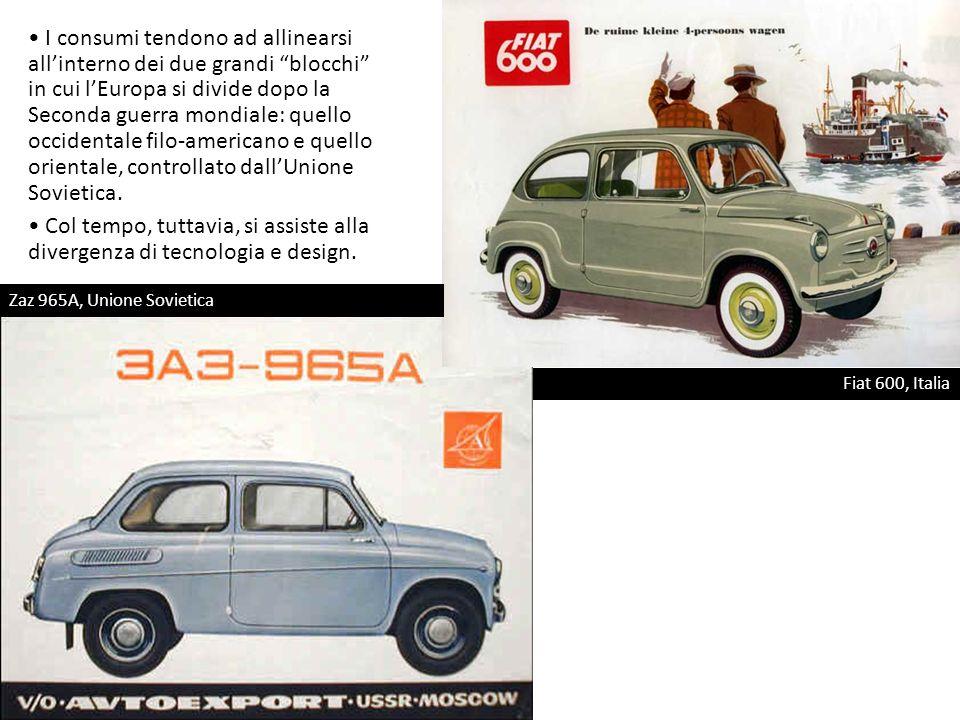 NSU Prinz 4, Germania Occidentale Trabant, il simbolo della Germania Orientale Sino agli anni Sessanta-Settanta si registra una certa simmetria tra i prodotti automobilistici dei due blocchi.