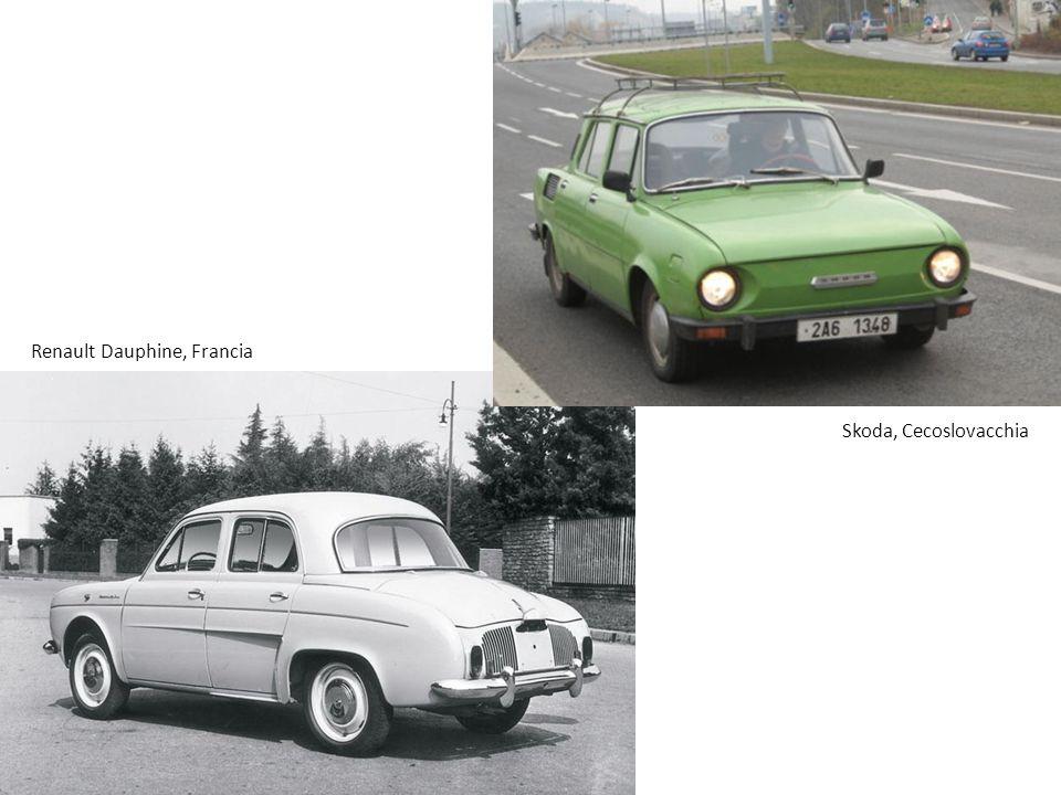 Renault Dauphine, Francia Skoda, Cecoslovacchia