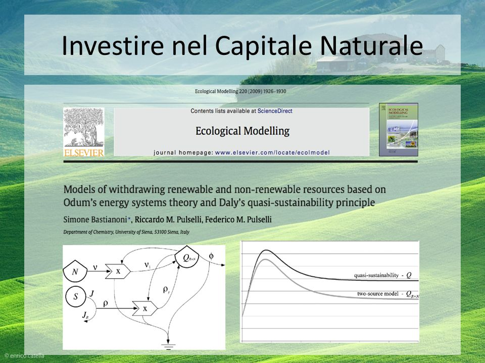 Investire nel Capitale Naturale