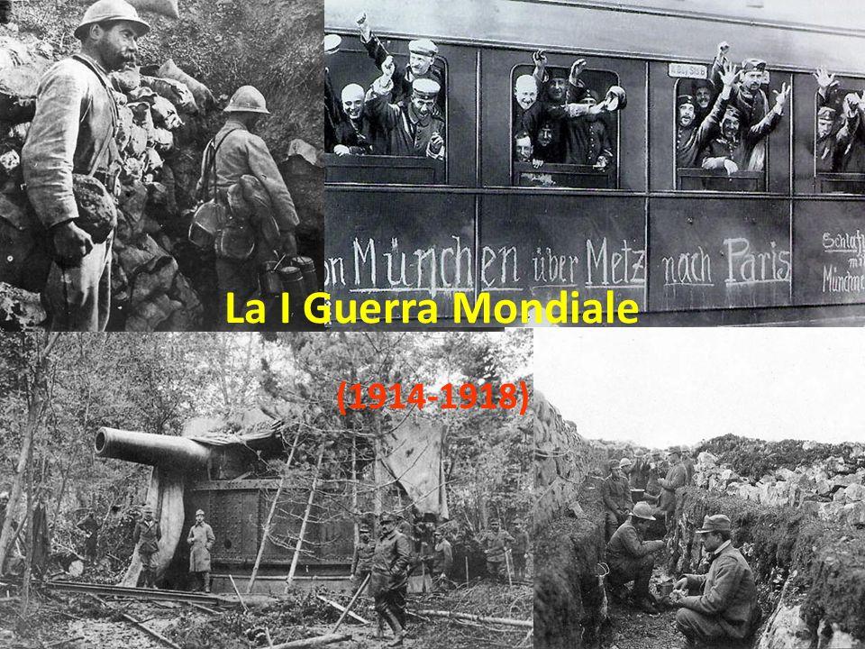(1914-1918) La I Guerra Mondiale