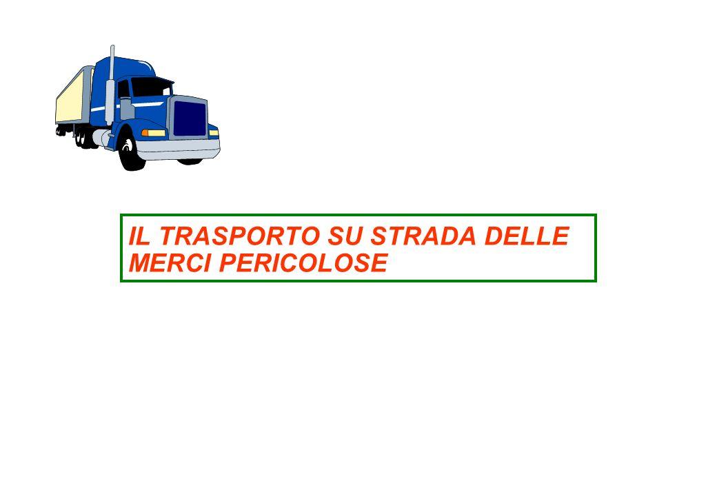 Il trasporto su strada delle merci pericolose IL TRASPORTO SU STRADA DELLE MERCI PERICOLOSE